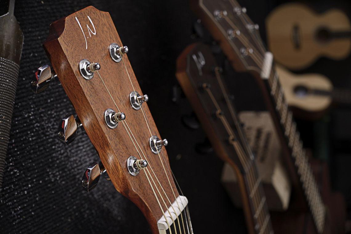 james neligan asy-a mini gaucher – guitare gaucher
