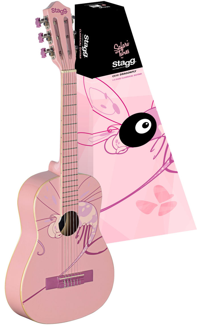 STAGG Guitare Classique C505 DRAGONFLY 1/4