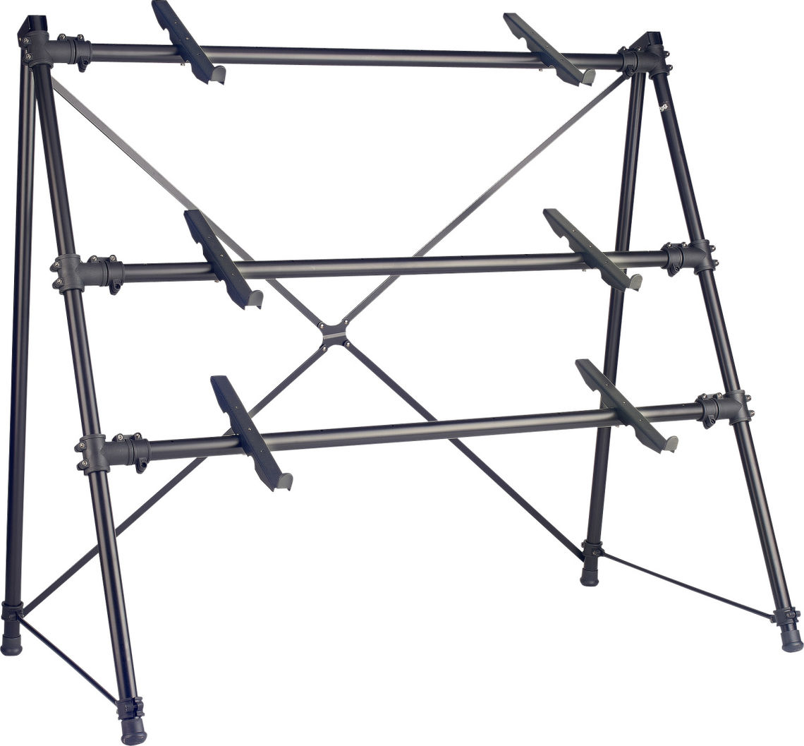 STAGG KXS-C34BK Stand 3 Claviers Noir