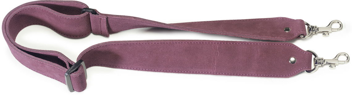 STAGG SDS-BANJO BGY Sangle Pour Banjo Daim Bordeaux