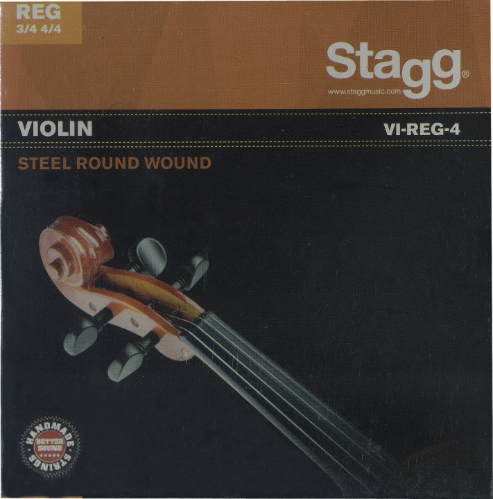 STAGG Jeu Complet Violon 3/4 & 4/4 Extra-Light